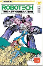 Robotech The New Generation Comic Book #17, Comico 1987 NEW UNREAD VERY ... - $2.99