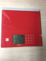TAYLOR  Digital Food Scale Weight Measure Model 1406RDQVC 3AAA Batteries AD1