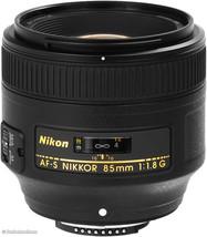 Nikon AF-S NIKKOR 85mm f/1.8G Lens Portrait Lens for Nikon Cameras + Aut... - $474.21