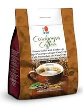 10 Packs DXN Cordyceps Coffee 3 in 1 Cordyceps Sinensis Instant Cafe Exp... - $146.82
