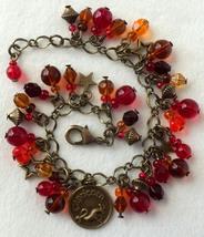 Zodiac Capricorn Beaded Charm Bracelet - $24.00