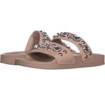 Steve Madden Shinin Rhinestone Slip On Sandals 921, Blush, 6 US - $16.30