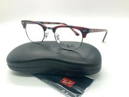 NEW  Ray Ban Eyeglass Frames RX 5154 5911 Red Havana  49-21-140MM /CASE - $77.57