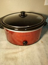 HAMILTON BEACH SLOW COOKER--33155--REMOVABLE LINER---250 WATT  -FREE SHI... - $41.57