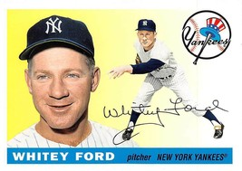 2011 Topps 60 Years Of Topps Lost Cards #60YOTLC6 Whitey Ford > 1955 > Y... - $0.99
