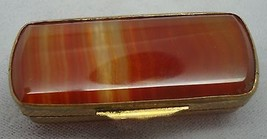 Rectangular Genuine Natural Agate Box (#1037) - $166.73