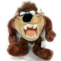 NWT Six Flags Tasmanian Devil Taz Looney Tunes Plush Stuffed Animal 2001... - $23.76