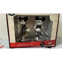 Disney Ornement Ensemble Mickey & Minnie Mouse D23 Expo Japon 2015 Limitée F/S - $133.69