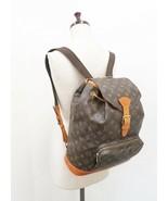Authentic LOUIS VUITTON Montsouris GM Monogram Backpack Bag #32919 - $879.00
