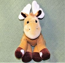 """Enesco TENDER TAILS MOOSE 12"""" Plush PRECIOUS MOMENTS Stuffed Animal Sticky Hands image 8"""