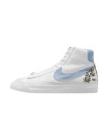 [Nike] W Blazer Mid '77 Shoes Sneakers - Indigo/White (DC9265-100) - $139.98
