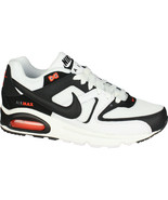 Nike Air Max Command White Black Max Orange 629993 103 White Mens Size 9 - $94.95