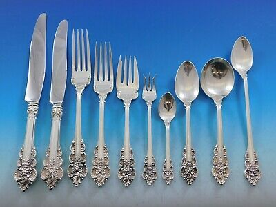 Primary image for Botticelli by Frank Whiting Sterling Silver Flatware Set Service 158 pcs Dinner