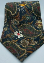 Looney Tunes Mania 100% Polyester Paisley Character Mens Neck Tie 1993 RARE - $16.03