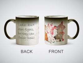 momentfrozen Aristocats heat reveal ceramic mug coffee - $33.95