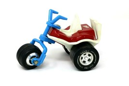 Tonka Tricycle Toy Red White & Blue Vintage USA Metal Plastic Clean - $17.70