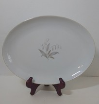 "Oval Serving Plate 12.25"" x 9.25"" Golden Rhapsody Kaysons Fine China Jap... - $19.34"