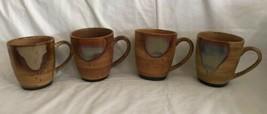 "Sango Splash Brown Drip Stoneware Crockery Dinnerware Cups 4951, MUG 4x3.5"" - $24.99"