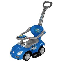Best Ride On Cars Blue 3-in-1 Push Car - $110.89