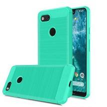 CaseRoo for Google Pixel 3 XL Case,Carbon Fiber Soft TPU Phone Case Brushed - $18.42