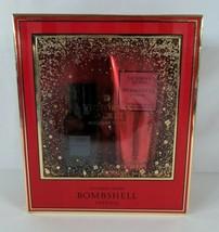 Victoria's Secret Bombshell Intense Fragrance Mist & Lotion Gift Set Ope... - $14.99