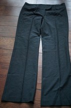 Ann Taylor Womens Black Dress Pants 8 Lindsay wool blend - $18.99