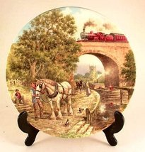 Wedgwood Over the Canal plate by John Chapman Country Connections series... - $43.12