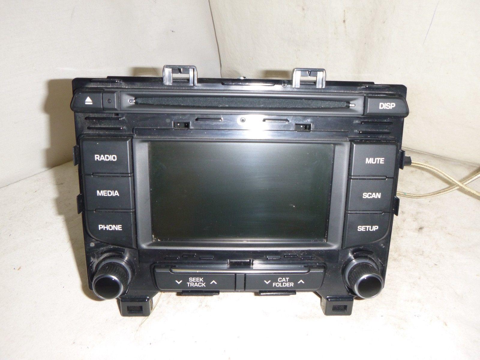15 2015 Hyundai Sonata Radio Cd MP3 Player 96180-C20004X FIR80