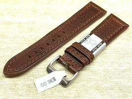 Alfa euro genuine leather watch band 22mm Premium calf  fits hamilton too image 1