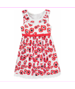 Blueberi Boulevard Baby Girls' Floral-Print Dress, Red, Size 3-6 Months - $8.86