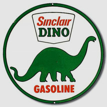 Sinclair Dino Oil Gas Metal Sign Tin New Vintage Style USA #207 - $10.29