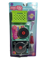 My Life As All American Girl Doll Retro Play Set, Record Player, Lava Lamp W3 - $17.41