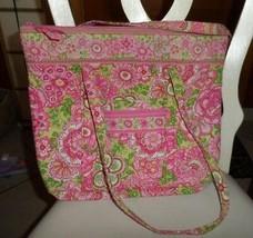 Vera Bradley Villager large zipper tote in Petal Pink - $42.00