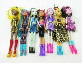 Monster High Dolls Lot of 7 Clothes Shoes & Accessories - $54.40