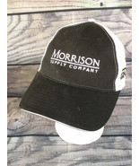 Morrison Supply Company Black White Meshback Adjustable Unisex Hat Cap - $4.94