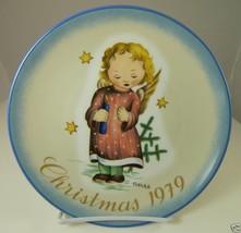 """STARLIGHT ANGEL 1979 Christmas Collector Plate Schmid 7.75"""" Berta Hummel... - $18.13"""