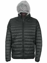 Maximos Men's Slim Fit Lightweight Zip Insulated Packable Puffer Hooded Jacket image 14
