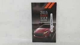 2015 Dodge Dart Owners Manual 52615 - $19.27