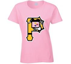 Pittsburgh Sports Teams T-Shirt Penguins Steelers Pirates Bucs Ladies T ... - $16.90+