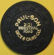 NCV Casino Chip. Paulson Dice & Card Co., Marketing Chip. Q75. - $4.29