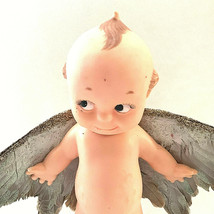 Vintage Cupie Doll Real Bird Wings Attached OOAK Glitter - $57.42