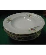 """Beautiful WAWEL China-Made in Poland """"Rose Garden"""" Set of 6 SOUP BOWLS  8"""" - $29.29"""