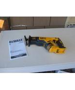 DEWALT DCS367 DEWALT XR 20V MAX. BRUSHLESS COMPACT RECIPROCATING SAW. BR... - $113.53