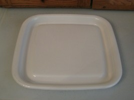 Corning Ware Microwave Oven Browning Grill Dish Tray MW-2 12x12 - $12.86