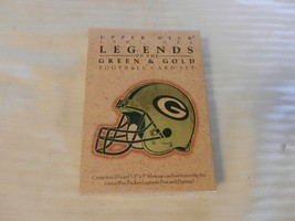 1997 Green Bay Packers Upper Deck Legends of the Green & Gold 20 Card Set - $29.70