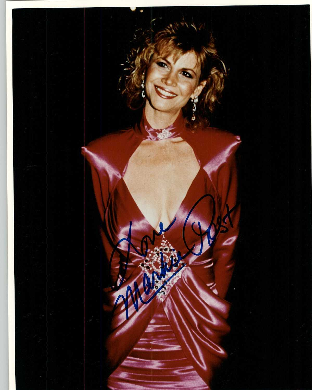 Markie Post Signed Autographed Glossy 8x10 Photo