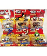 2017 Hot Wheels LOONEY TUNES Character Cars  Complete 6 Car Set See Details - $58.41