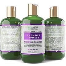 Lavender Cypress Rejuvenating Botanical Hair Growth Shampoo for Hair Loss - Thic - $42.96