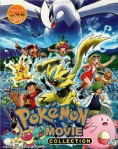 Pokemon The Movie Collection Part 1-22 +3 Special Movie English Sub Ship From US
