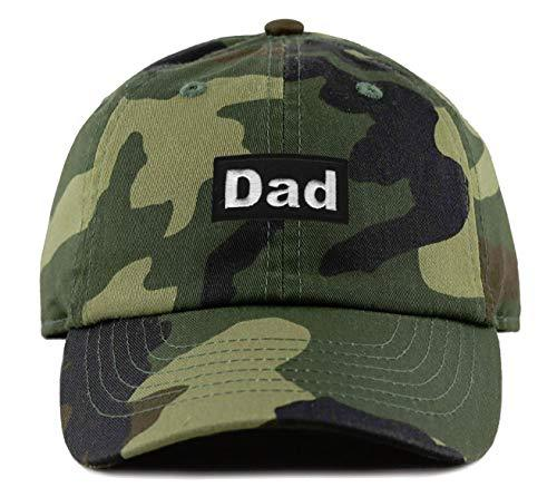 Dad Cap - Adjustable Camouflage Strapback Great Hat for Any Father (Camo)